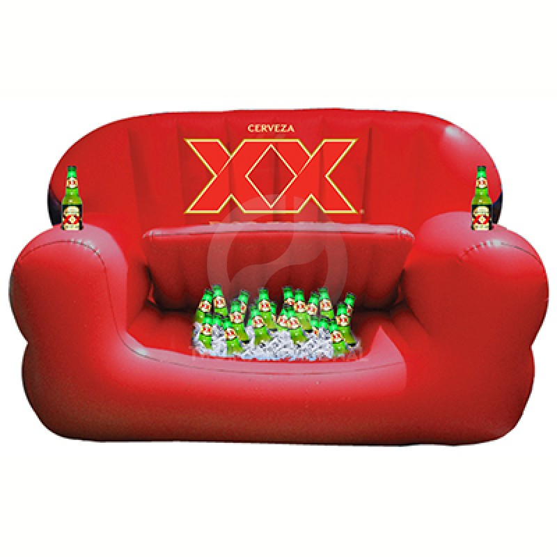 Inflatable Sofa with Cooler V8017-14MG