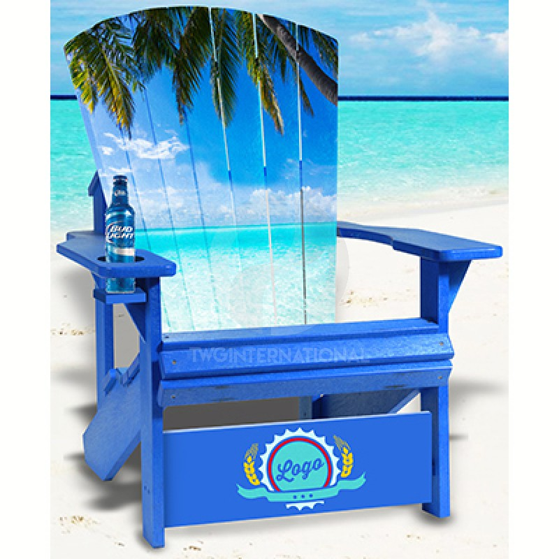 Summer Adirondack Chair
